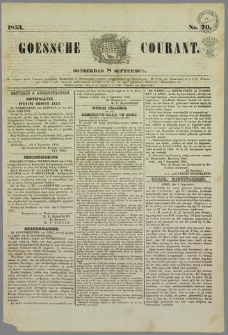 Goessche Courant 1853-09-08