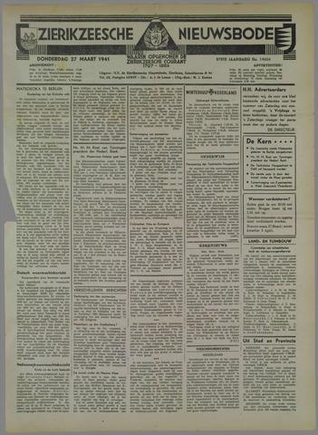 Zierikzeesche Nieuwsbode 1941-03-27