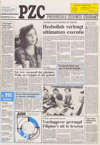 Provinciale Zeeuwse Courant 1989-08-02