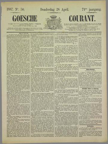 Goessche Courant 1887-04-28