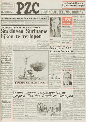 Provinciale Zeeuwse Courant 1984-01-20
