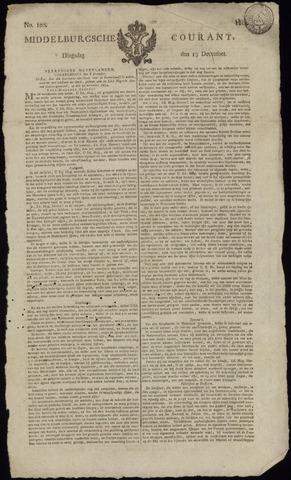 Middelburgsche Courant 1814-12-13