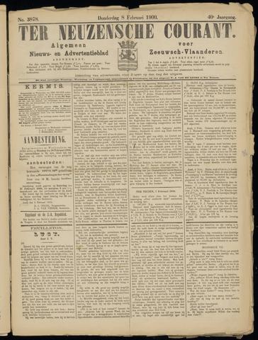 Ter Neuzensche Courant. Algemeen Nieuws- en Advertentieblad voor Zeeuwsch-Vlaanderen / Neuzensche Courant ... (idem) / (Algemeen) nieuws en advertentieblad voor Zeeuwsch-Vlaanderen 1900-02-08