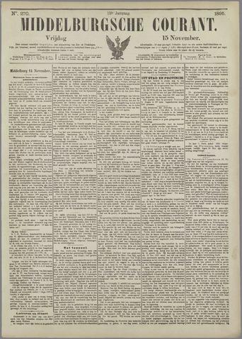 Middelburgsche Courant 1895-11-15