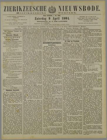 Zierikzeesche Nieuwsbode 1904-04-09
