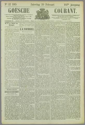 Goessche Courant 1915-02-20