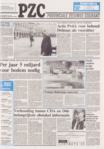 Provinciale Zeeuwse Courant 1989-09-14