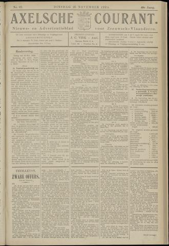 Axelsche Courant 1924-11-25
