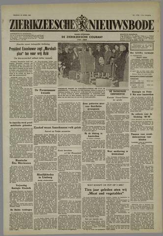 Zierikzeesche Nieuwsbode 1955-04-22