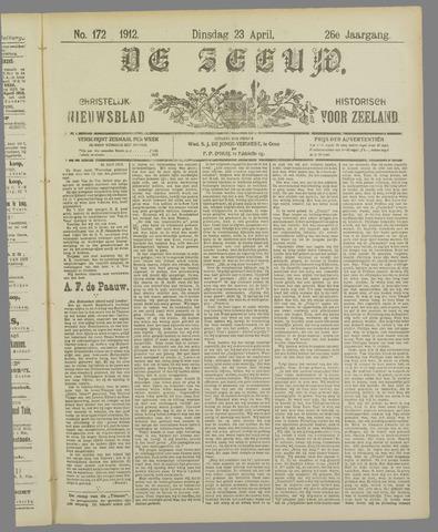 De Zeeuw. Christelijk-historisch nieuwsblad voor Zeeland 1912-04-23