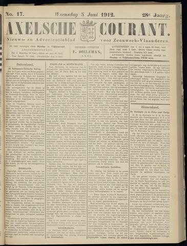 Axelsche Courant 1912-06-05