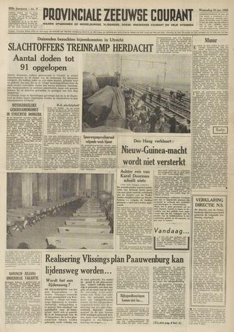 Provinciale Zeeuwse Courant 1962-01-10