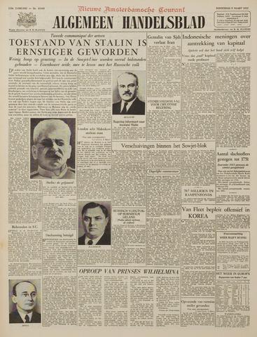 Watersnood documentatie 1953 - kranten 1953-03-05