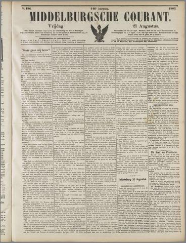Middelburgsche Courant 1903-08-21
