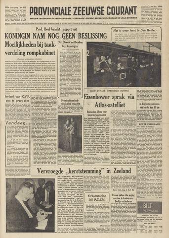 Provinciale Zeeuwse Courant 1958-12-20