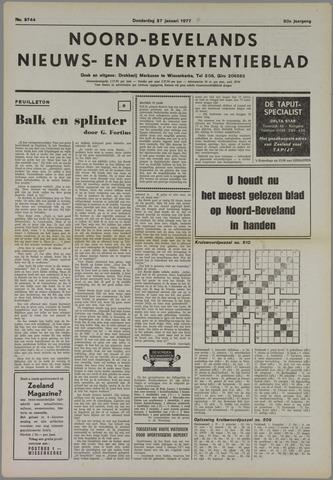 Noord-Bevelands Nieuws- en advertentieblad 1977-01-27