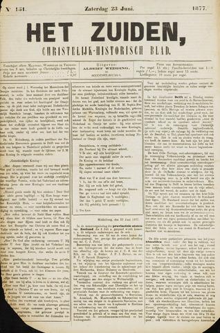 Het Zuiden, Christelijk-historisch blad 1877-06-23