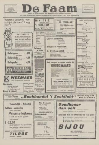 de Faam en de Faam/de Vlissinger 1969-07-31