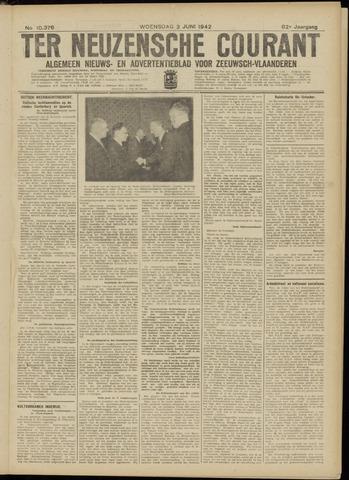 Ter Neuzensche Courant. Algemeen Nieuws- en Advertentieblad voor Zeeuwsch-Vlaanderen / Neuzensche Courant ... (idem) / (Algemeen) nieuws en advertentieblad voor Zeeuwsch-Vlaanderen 1942-06-03