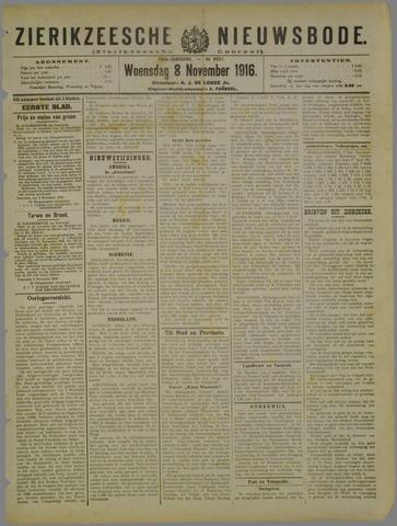 Zierikzeesche Nieuwsbode 1916-11-08
