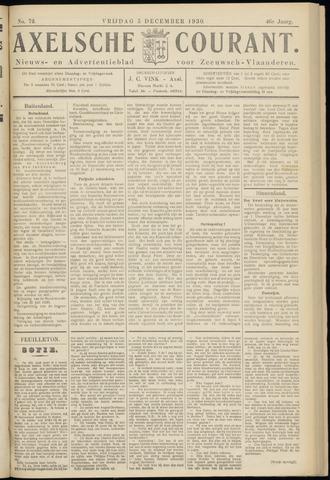 Axelsche Courant 1930-12-05