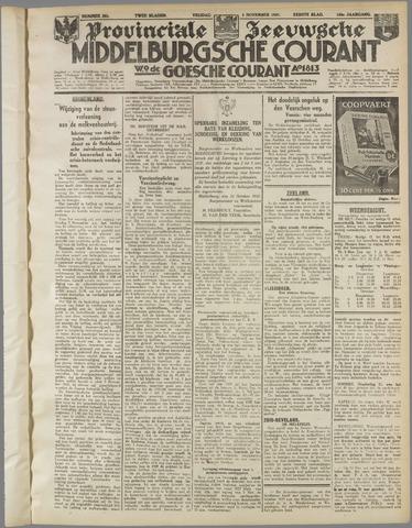 Middelburgsche Courant 1937-11-05
