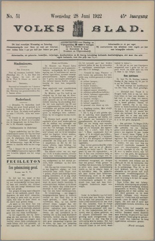 Volksblad 1922-06-28