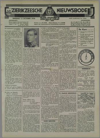Zierikzeesche Nieuwsbode 1936-10-13