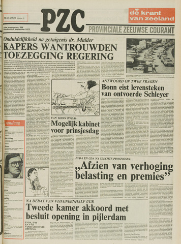 Provinciale Zeeuwse Courant 1977-09-08