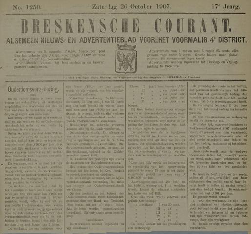 Breskensche Courant 1907-10-26
