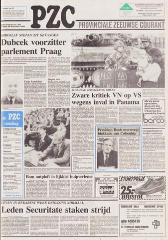 Provinciale Zeeuwse Courant 1989-12-29