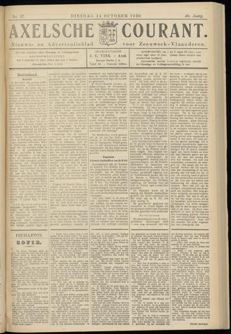 Axelsche Courant 1930-10-14