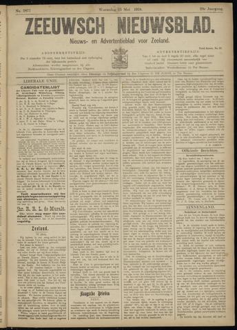 Ter Neuzensch Volksblad. Vrijzinnig nieuws- en advertentieblad voor Zeeuwsch- Vlaanderen / Zeeuwsch Nieuwsblad. Nieuws- en advertentieblad voor Zeeland 1918-05-15