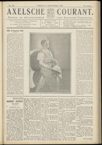 Axelsche Courant 1939-09-01