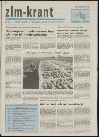 Zeeuwsch landbouwblad ... ZLM land- en tuinbouwblad 1993-03-26