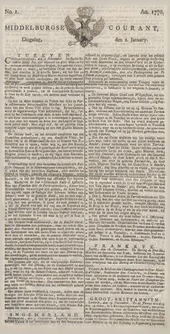 Middelburgsche Courant 1770
