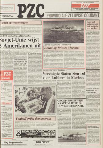 Provinciale Zeeuwse Courant 1986-10-20