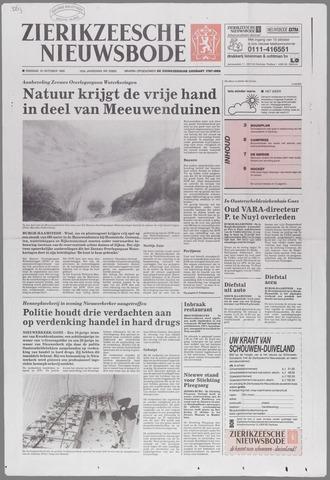 Zierikzeesche Nieuwsbode 1995-10-10
