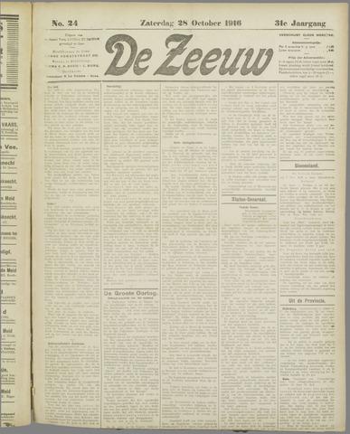 De Zeeuw. Christelijk-historisch nieuwsblad voor Zeeland 1916-10-28