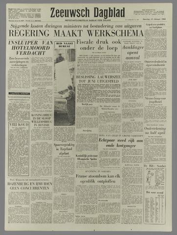 Zeeuwsch Dagblad 1960-02-13
