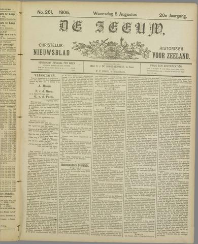 De Zeeuw. Christelijk-historisch nieuwsblad voor Zeeland 1906-08-08