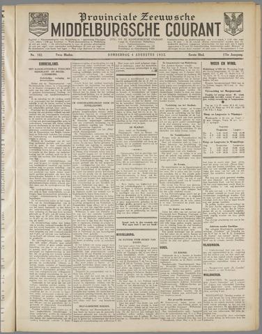 Middelburgsche Courant 1932-08-04