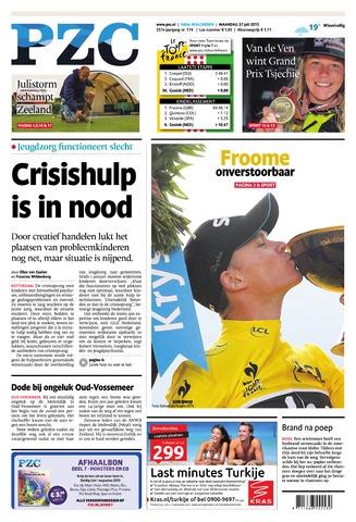 Provinciale Zeeuwse Courant 2015-07-27