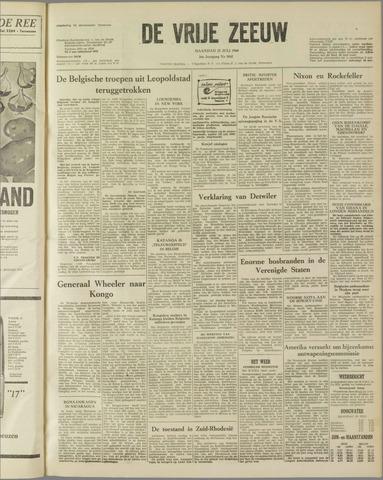 de Vrije Zeeuw 1960-07-25