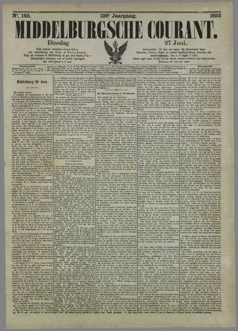 Middelburgsche Courant 1893-06-27