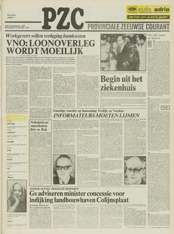 Provinciale Zeeuwse Courant 1977-10-12