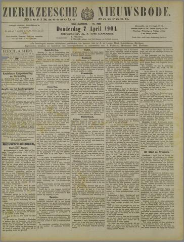 Zierikzeesche Nieuwsbode 1904-04-07