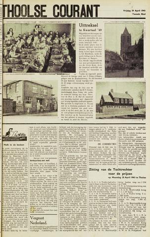 Ierseksche en Thoolsche Courant 1949-04-29