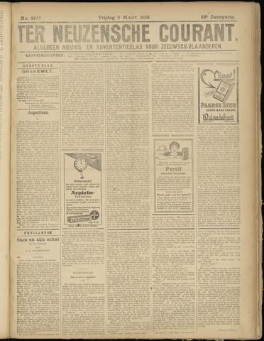 Ter Neuzensche Courant. Algemeen Nieuws- en Advertentieblad voor Zeeuwsch-Vlaanderen / Neuzensche Courant ... (idem) / (Algemeen) nieuws en advertentieblad voor Zeeuwsch-Vlaanderen 1928-03-09