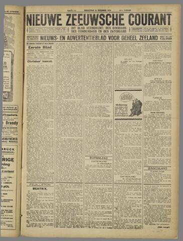 Nieuwe Zeeuwsche Courant 1925-12-24